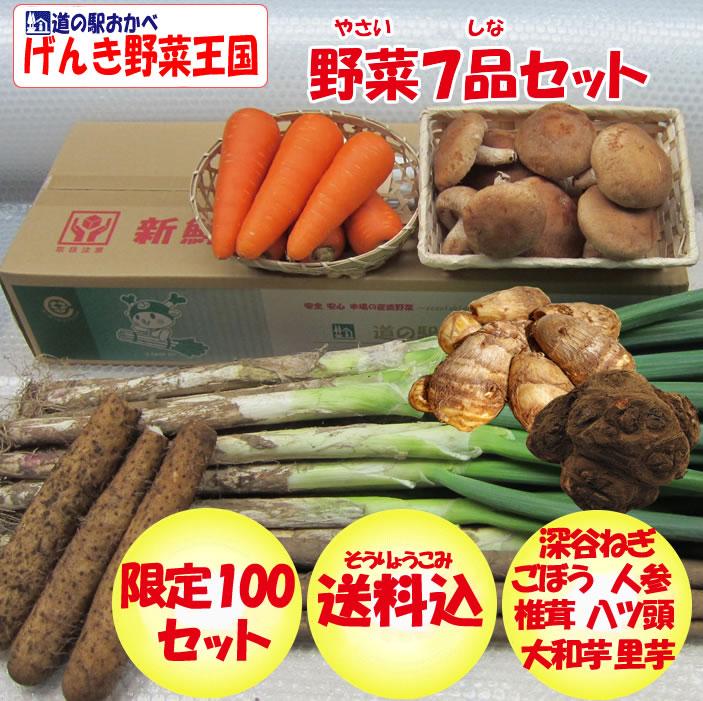 野菜セット7品
