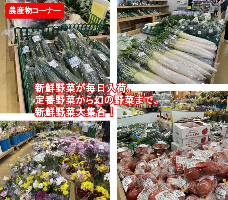 農産物センター・新鮮野菜